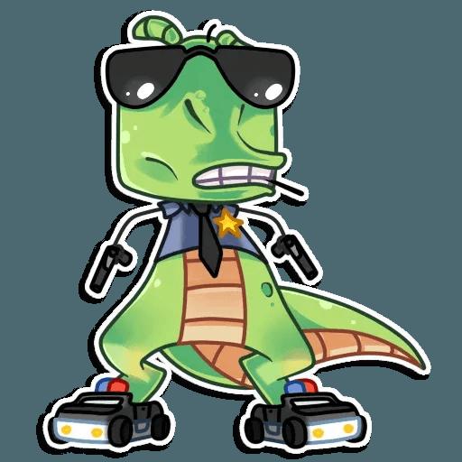 The almost good dinosaur - Sticker 9