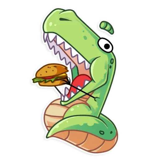 The almost good dinosaur - Sticker 17
