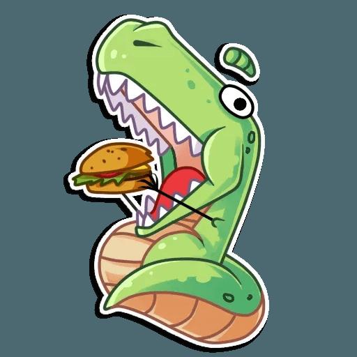 The almost good dinosaur - Sticker 17