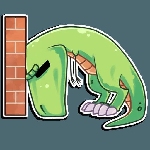 The almost good dinosaur - Sticker 19