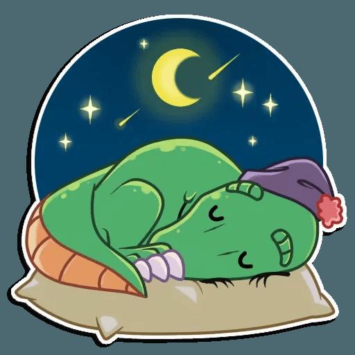 The almost good dinosaur - Sticker 25