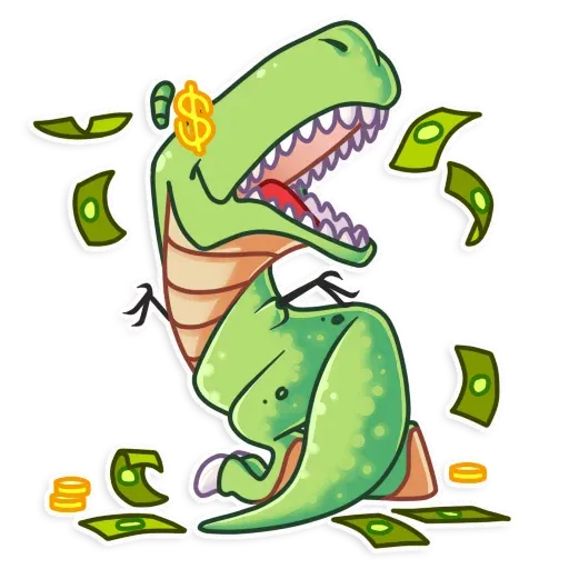 The almost good dinosaur - Sticker 10