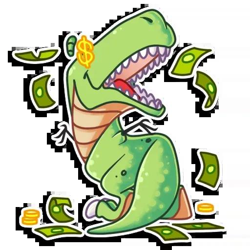 The almost good dinosaur - Sticker 10