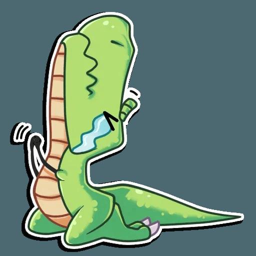 The almost good dinosaur - Sticker 13