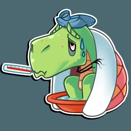 The almost good dinosaur - Sticker 28