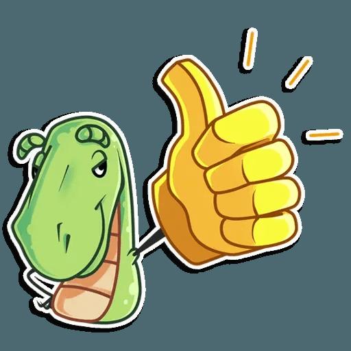 The almost good dinosaur - Sticker 6