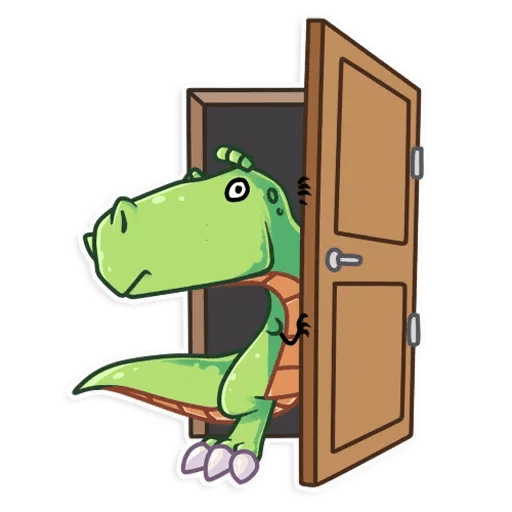 The almost good dinosaur - Sticker 8