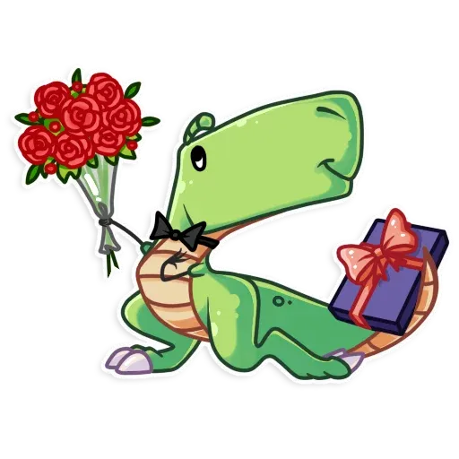 The almost good dinosaur - Sticker 20