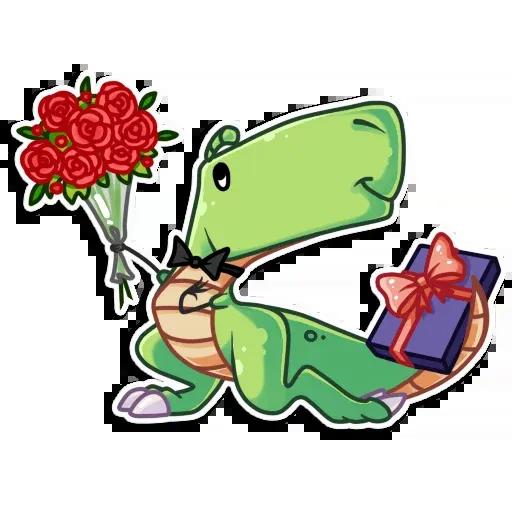 The almost good dinosaur - Sticker 20