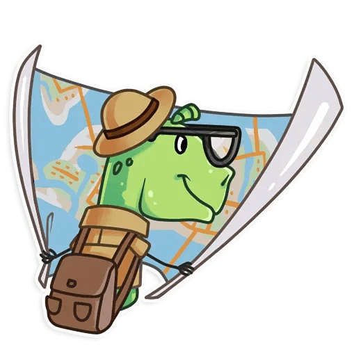 The almost good dinosaur - Sticker 16