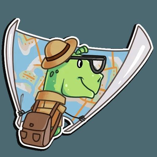 The almost good dinosaur - Sticker 16