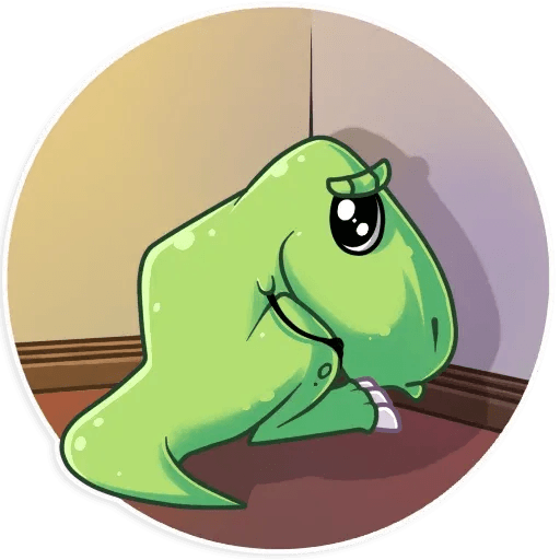The almost good dinosaur - Sticker 26