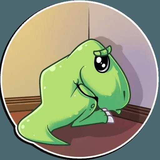 The almost good dinosaur - Sticker 26