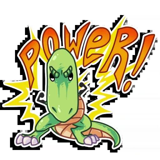 The almost good dinosaur - Sticker 14
