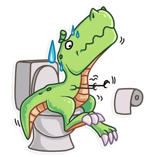 The almost good dinosaur - Sticker 12
