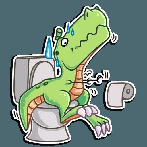 The almost good dinosaur - Sticker 12