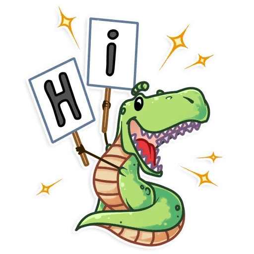 The almost good dinosaur - Sticker 4