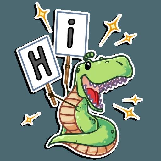 The almost good dinosaur - Sticker 4