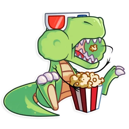 The almost good dinosaur - Sticker 24
