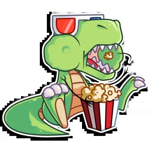 The almost good dinosaur - Sticker 24