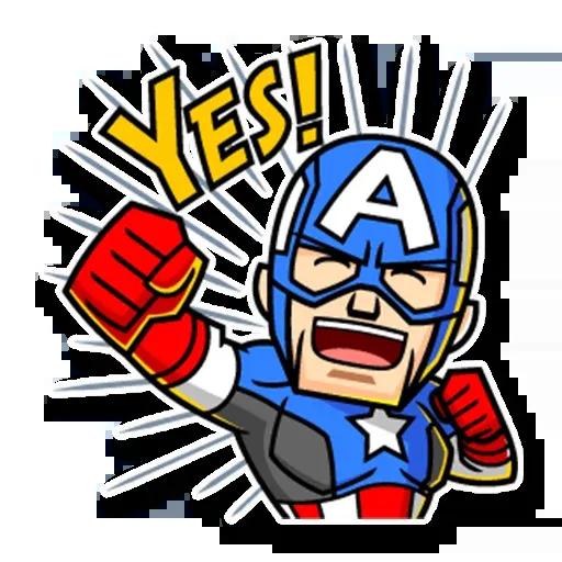 Marvel mini heroes - Sticker 16
