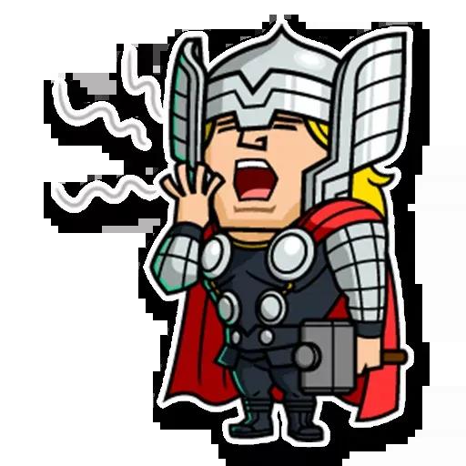 Marvel mini heroes - Sticker 17