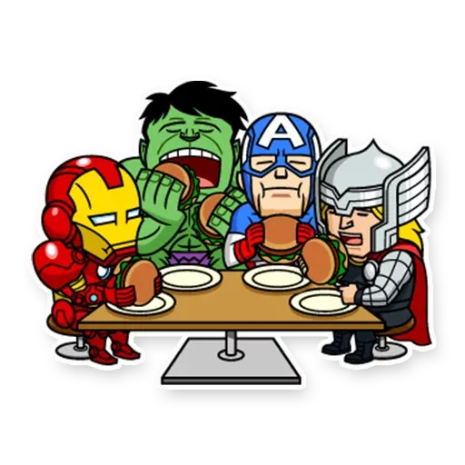 Marvel mini heroes - Sticker 14