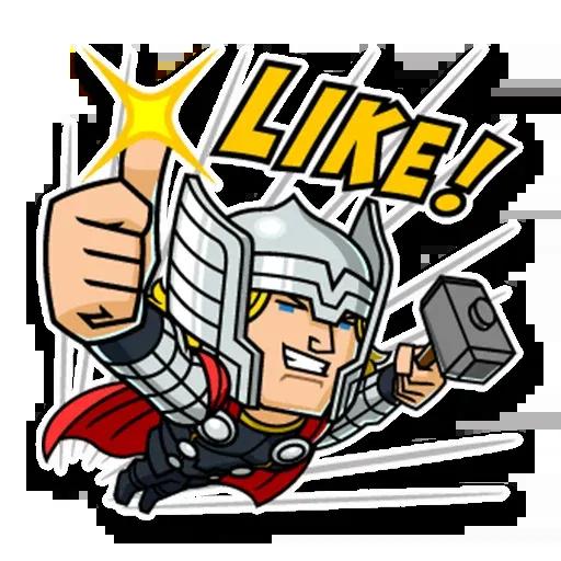 Marvel mini heroes - Sticker 9