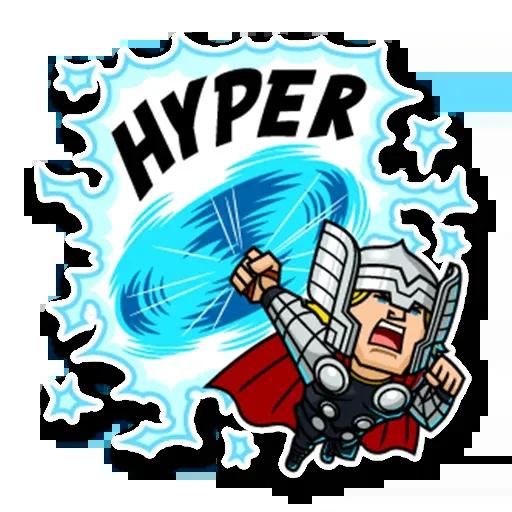 Marvel mini heroes - Sticker 15