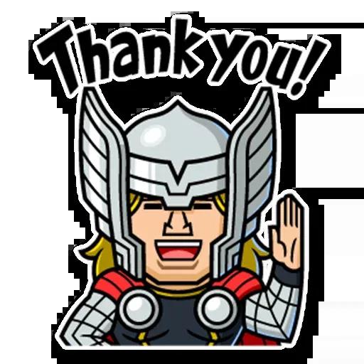 Marvel mini heroes - Sticker 6