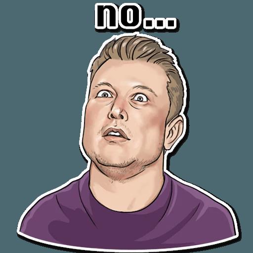 Elon Musk - Sticker 5