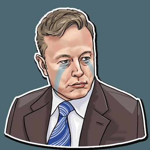 Elon Musk - Sticker 14