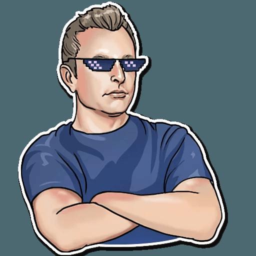 Elon Musk - Sticker 22