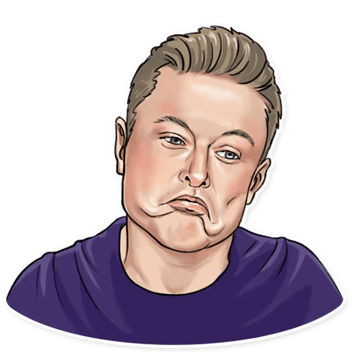 Elon Musk - Sticker 19