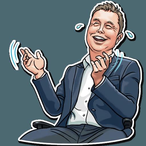 Elon Musk - Sticker 1