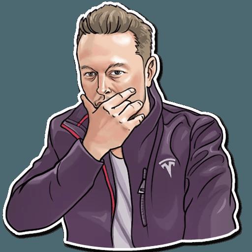 Elon Musk - Sticker 25