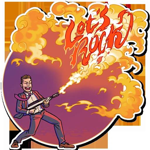 Elon Musk - Sticker 21