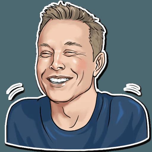 Elon Musk - Sticker 26