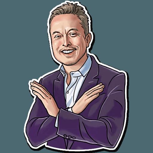 Elon Musk - Sticker 29