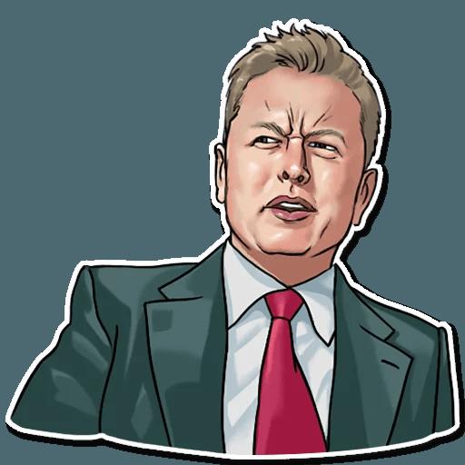 Elon Musk - Sticker 16