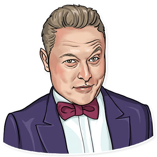 Elon Musk - Sticker 17