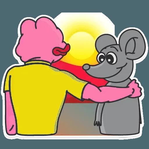 Pink Pepe 2 - Sticker 10