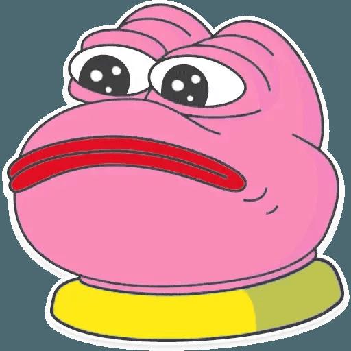 Pink Pepe 2 - Sticker 13