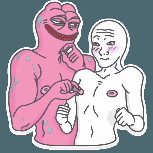 Pink Pepe 2 - Sticker 8