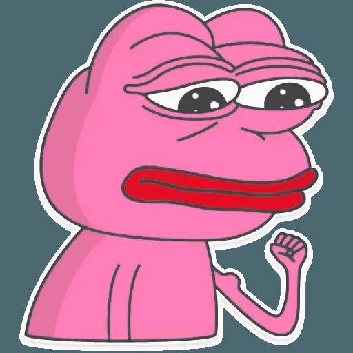 Pink Pepe 2 - Sticker 25