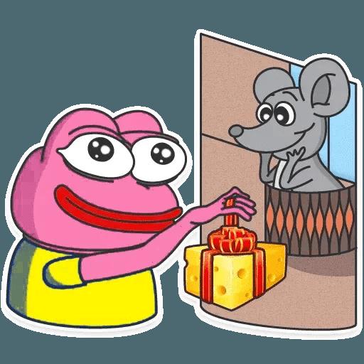 Pink Pepe 2 - Sticker 5