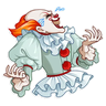 клоун ебанный - Tray Sticker