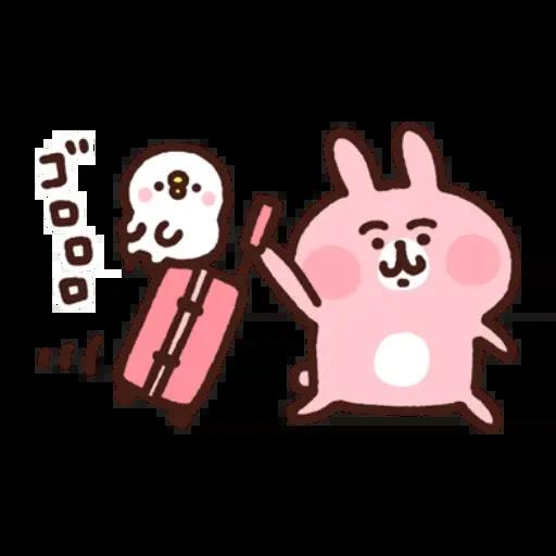 kanahei&usagi travel - Sticker 16