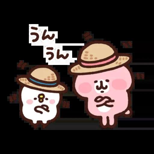 kanahei&usagi travel - Sticker 5