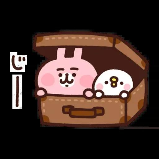 kanahei&usagi travel - Sticker 9